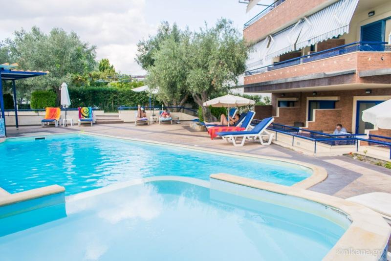 Hotel Philoxenia Kassandra Pefkochori Halkidiki